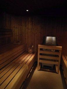 Wellnessbereich Finnische-Sauna.