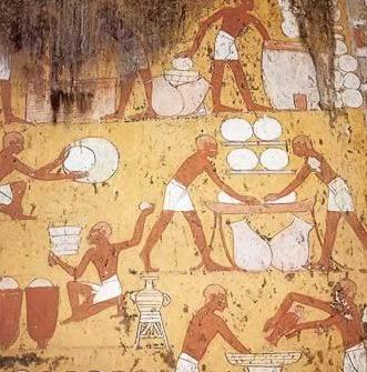 Image result for egyptian breadmaking