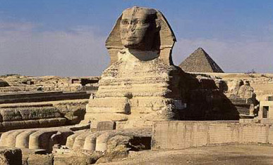 Another View of the Great Sphinx at Giza