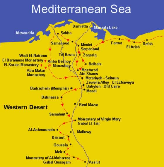 The Route of the Holy Family in Egypt