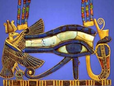 A Horus Eye pendant