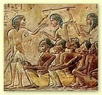 Possible African slaves in Egypt