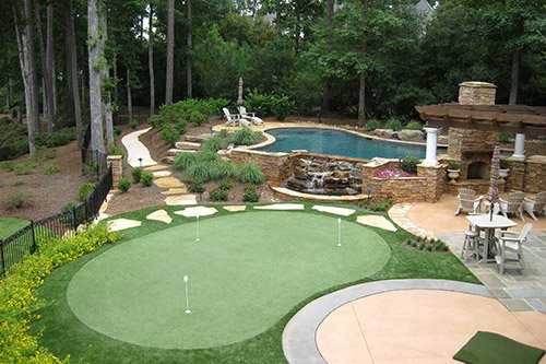 Tour Greens | Backyard Putting Green Cost on Putting Green Ideas For Backyard id=71038