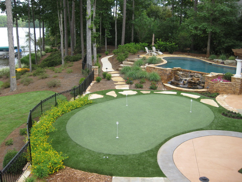 Tour Greens | Outdoor Putting Greens on Putting Green Ideas For Backyard id=61707