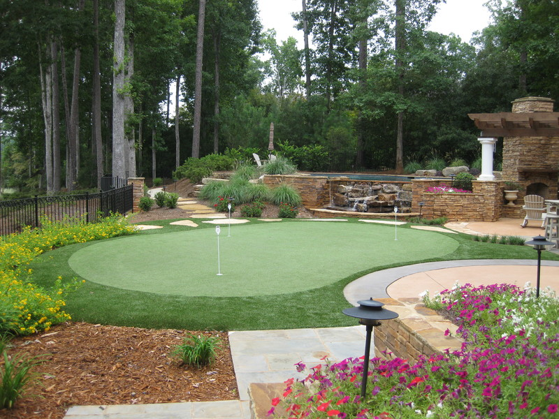 Tour Greens | Outdoor Putting Greens on Putting Green Ideas For Backyard id=12445