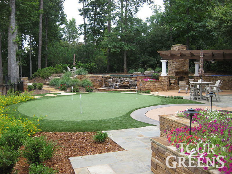 Tour Greens Ohio | Putting Greens Photo Gallery on Putting Green Ideas For Backyard id=27421