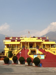 Gyuto monastery, home of Karmapa