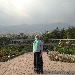 solo woman traveller in iran
