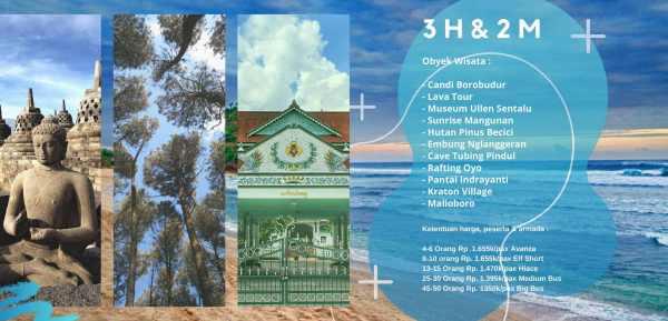 Paket Wisata Jogja 3H2M