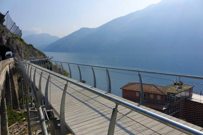 Apre Sul Lago Di Garda La Pista Ciclabile Più Spettacolare D