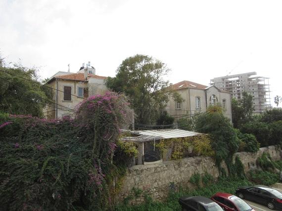 Tel Aviv - German Colony houses