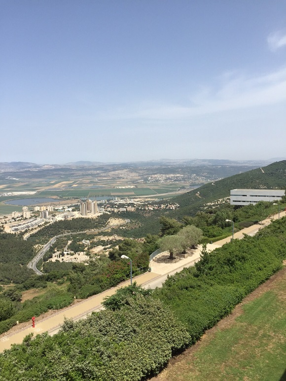 Touring Israel - View from the Eshkol Observatory