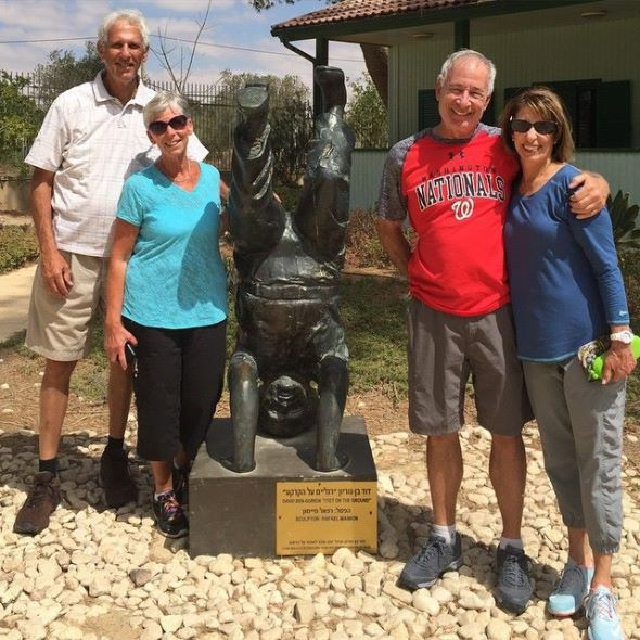 Touring Israel - Hanging out with David Ben Gurion