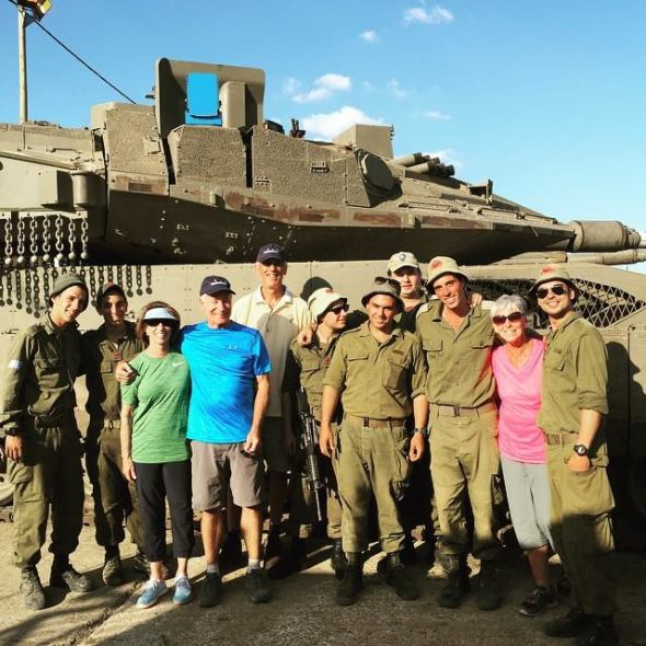Touring Israel - Meeting wonderful IDF soldiers