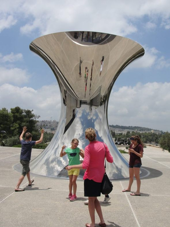 Touring Israel - Chillin' at the Israel Museum