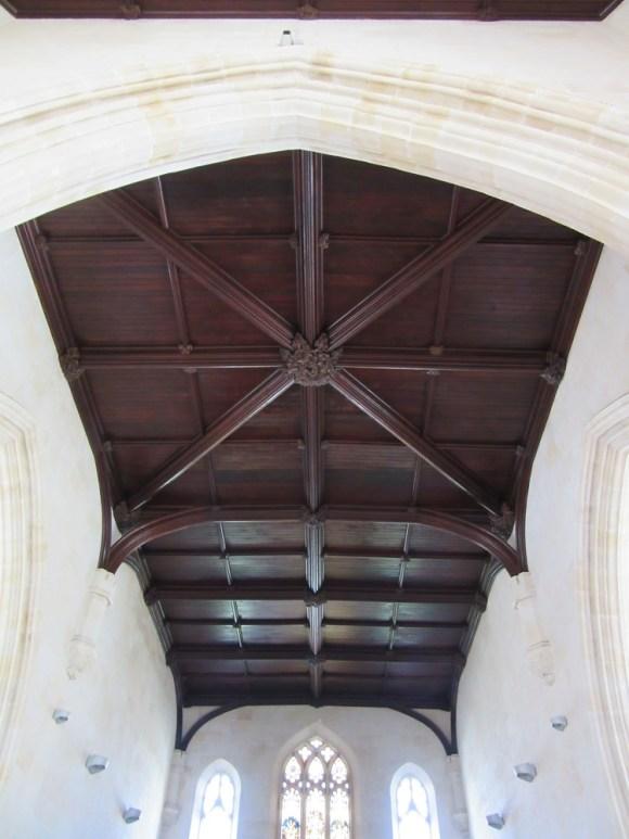 christ church ceiling cross, old city jerusalem, photo by deena levenstein