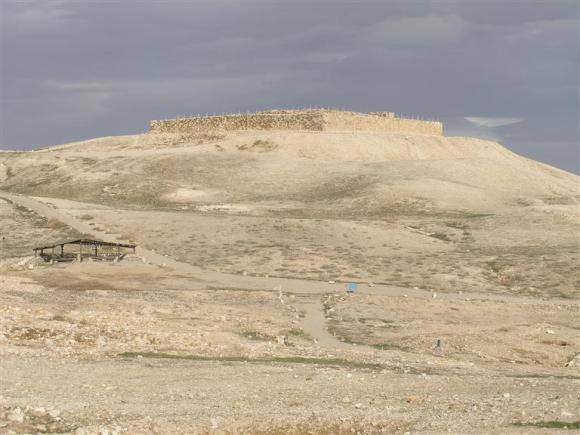 Arad was founded nearby the ancient Tel Arad. Photo from goisrael.com