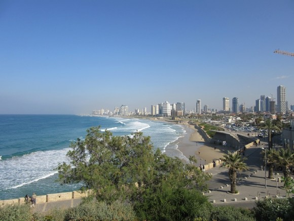 view of tel aviv from yaffo by deena levenstein