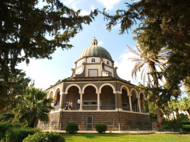 Christian Tours of Israel - Mt of Beatitudes