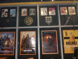 Lots of posters and memorabilia around. Better check them out in between shows, which are 30 minutes apart.