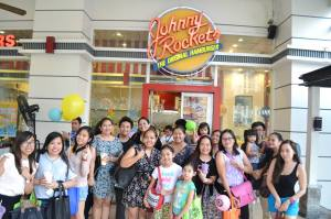 From the Johnny Rockets FB Page. Thanks for having us!