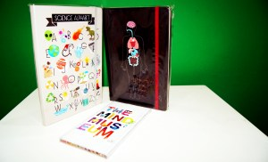 Love scribbling? Get these cool notebooks to unleash the science geek in you.