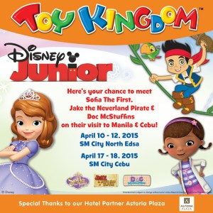 Disney Junior characters live in the Philippines!