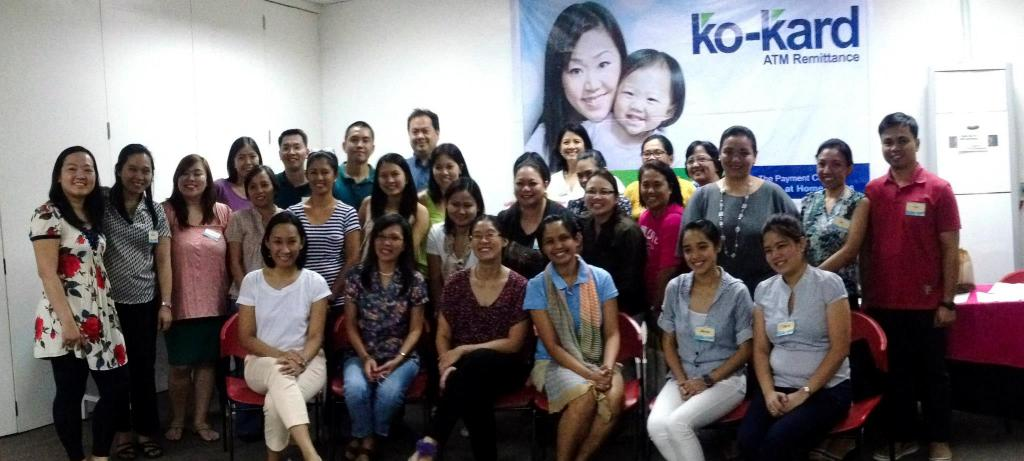 The very first Manila Workshop-organized workshop  I attended was with my husband! Real ways to be a WAHM workshop, which was well attended even by non-moms (husbands and singles). Photo credit: Manila Workshops Facebook Page (www.facebook.com/manilaworkshops).