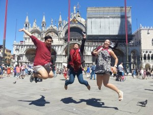 This was one! So happy to have made a jumpshot in Italy this time.