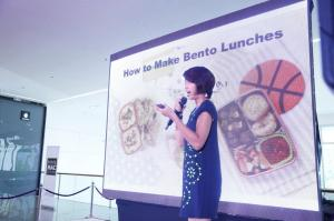 With Good Housekeeping's Food Editor, Chef Roselle Miranda, who gave tips on how to make quick and easy bento lunches.