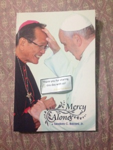As souvenir for his Golden Sacerdotal Anniversary, Bishop Bacani gave out these books as souvenir to his guests.