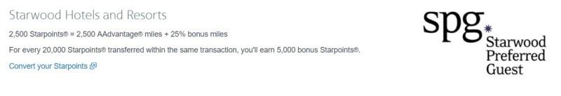 AA SPG Bonus