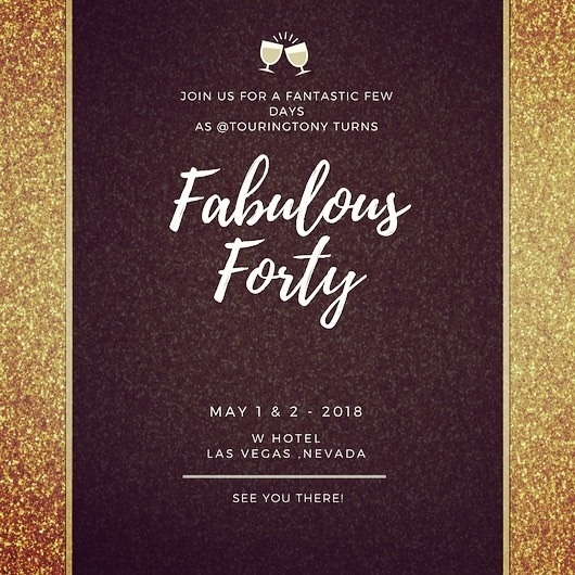 TouringTony Fabulous 40