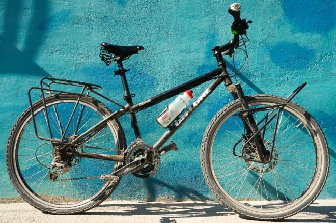 Jenny hearts her bike
