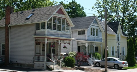 Walking Tours, Historic Homes in Downtown Burlington