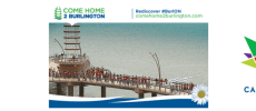 Come Home 2 Burlington EPostcard