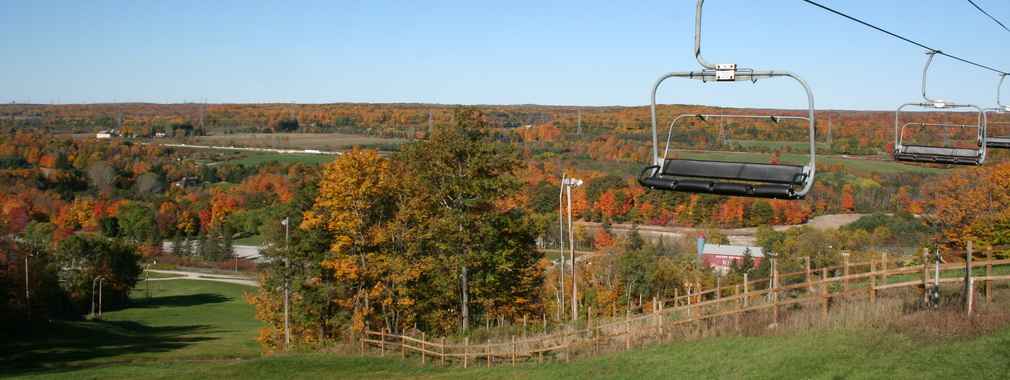 Fall Escarpment Kelso Conservation Area Chair Lift