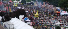Canada's Largest Ribfest - crowd