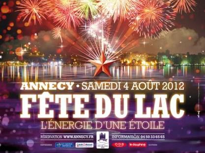 fête du lac annecy 2012