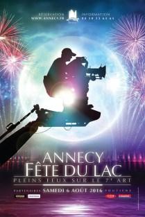 pleins feux sur le 7ème art, fête du lac Annecy