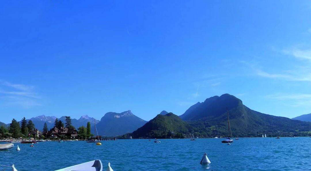 Lac d'Annecy côté plaisance
