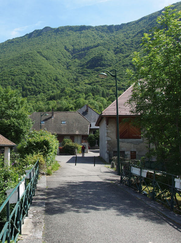 doussard, lac d'Annecy nature
