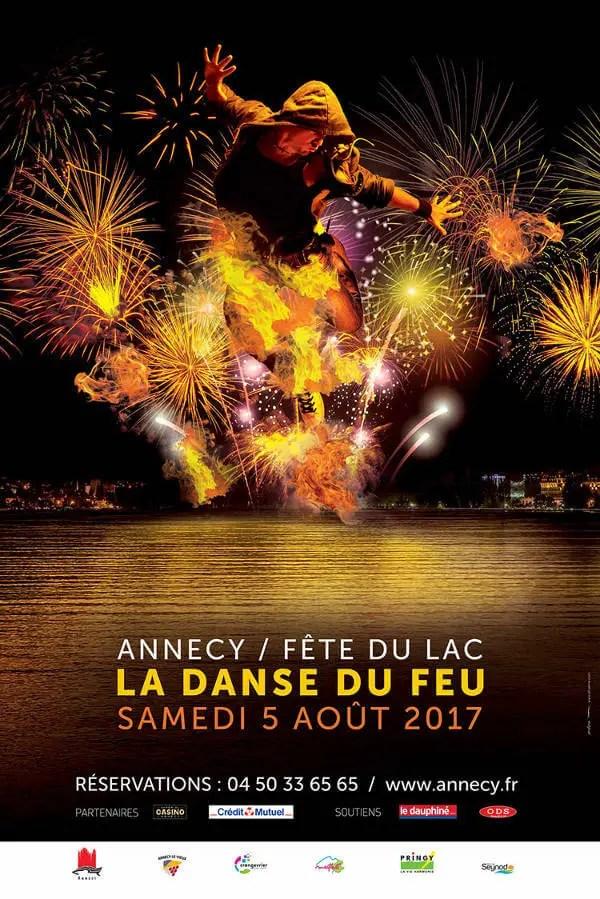 Fête du lac 2017 : La danse du feu