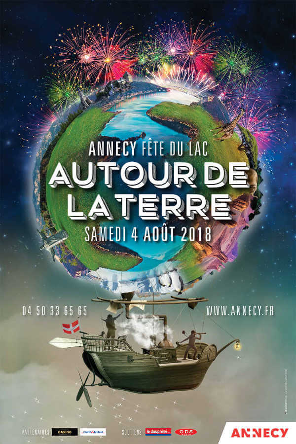 Fête du lac 2018 : Autour de la Terre