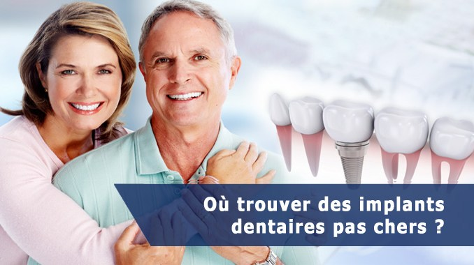 Implant dentaire pas cher