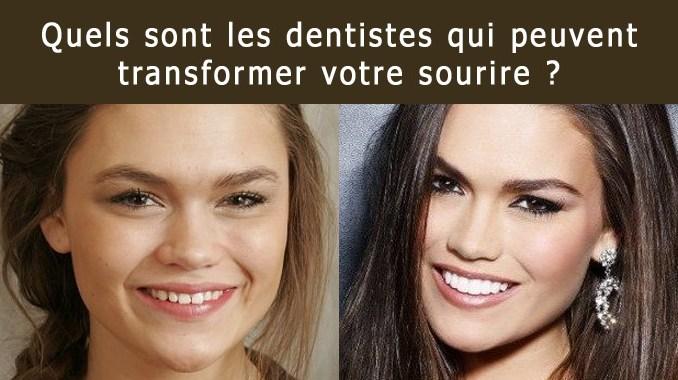 Dentiste en esthétique dentaire