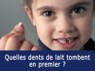 Dents de laits qui tombent