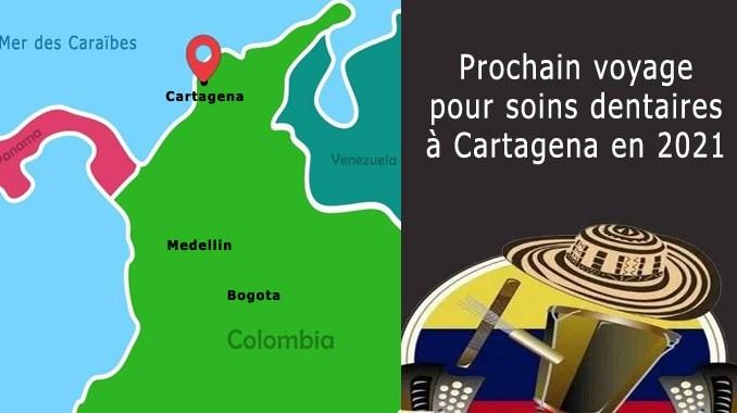 Voyage à Cartagena en 2021 pour soins dentaires