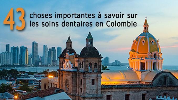 Soins dentaires en Colombie