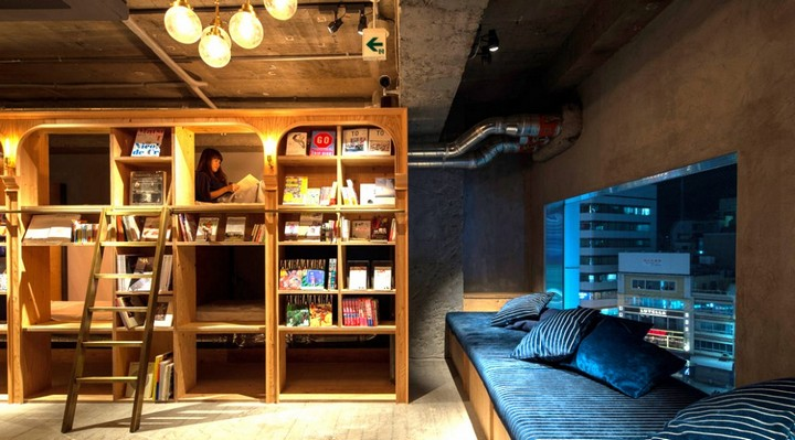 book and bed hostel, tokyo (3)